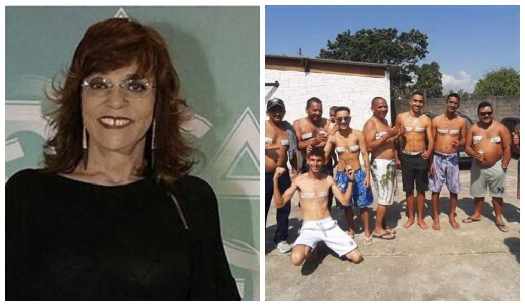 Gloria Perez se emociona com jovem trans que recebeu homenagem da família