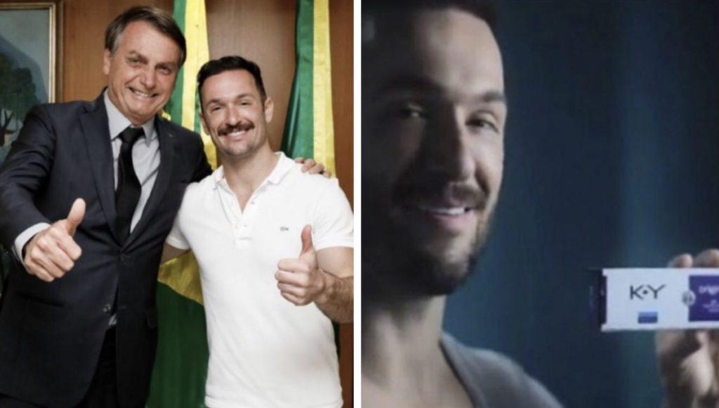 Diego Hypolito posa sorridente com Jair Bolsonaro e as gays decidem: 'Agora só K-med'