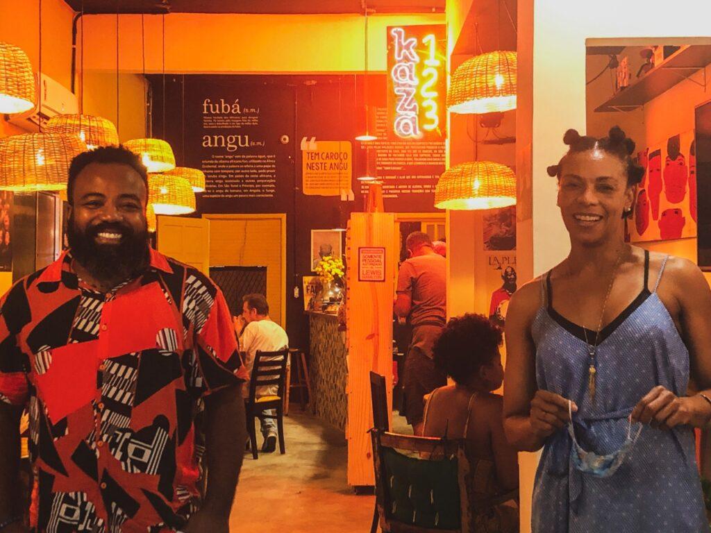 Rodrigo França entrega lindo e acolhedor espaço afrogastronômico em Vila Isabel