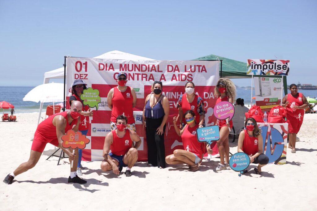 Organizações se unem em ação peloDia Mundial de Luta contra a Aids